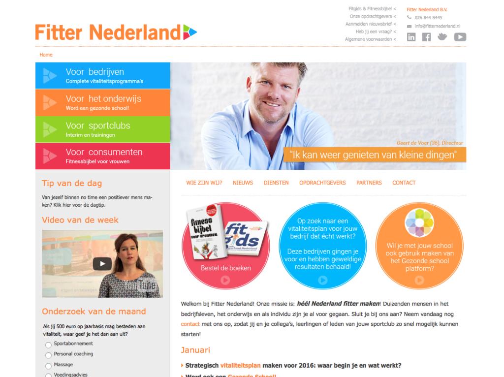 fitter nederland